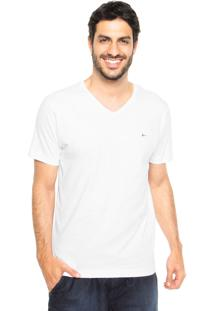 Camiseta Aramis Bordado Branca