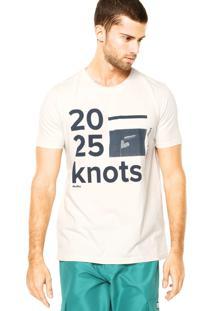 Camiseta Redley Estampada Off-White