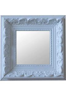 Espelho Moldura Rococó Raso 16136 Branco Art Shop