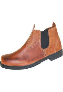 Bota Shoes Shoes Sapatão Marrom