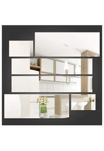 Espelhos Decorativos Em Acrílicos Retângulos Personalizáveis