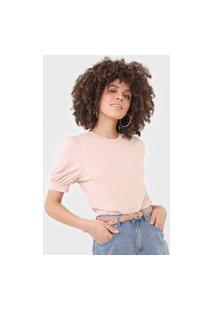 Camiseta Vero Moda Mangas Bufantes Rosa