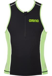 Regata Arena Triathlon Tritop St Preta/Verde
