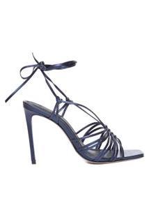 Sandália Feminina Multistrings - Azul