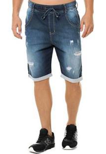 Bermuda Denuncia Jogger Masculina - Masculino-Jeans