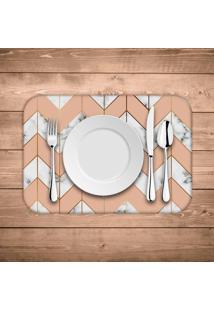 Jogo Americano Wevans Marble Geometric