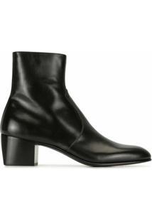 Saint Laurent Ankle Boot Cole - Preto
