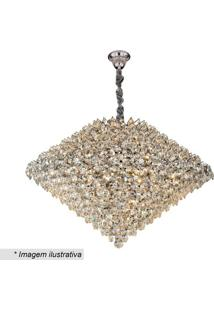 Lustre Diamond- Cristal- 56Xø78Cm- Bivolt- Hhevvy