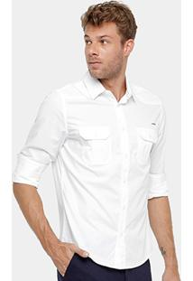 Camisa Colcci Bolsos Masculina - Masculino