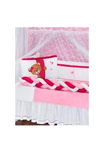 Kit Enxoval Bebê Menina - Rosa Pink