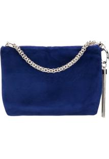 Jimmy Choo Callie Clutch Bag - Azul