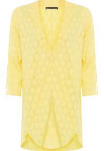 Vestido Túnica Fany - Amarelo