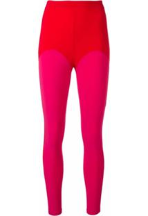 Atu Body Couture Legging Color Block - Vermelho