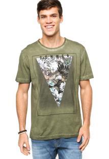 Camiseta Sommer Jateada Verde