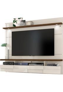 """Home Suspenso Lana 1.80M Para Tvs De Até 60"""" Off White / Savana"""