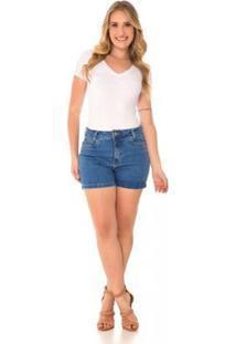 Bermuda Jeans Express Dani Feminina - Feminino
