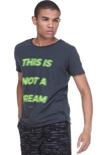 Camiseta King&Joe Destroyed Cinza
