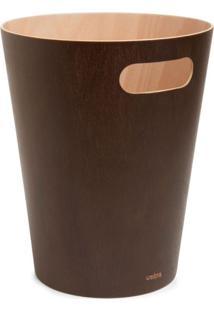 Lixeira Woodrow Espresso Umbra