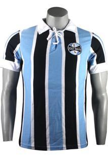 Camiseta Masculina Grêmio Retro 1930 Natural Cotton