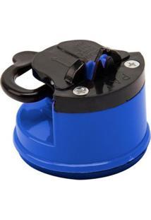 Afiador De Facas Com Ventosa Azul - Afiador De Facas Com Ventosa Azul