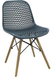 Cadeira Eloisa Verde Petróleo Rivatti Móveis