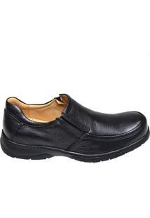 Sapato Masculino Plus Floater Anatomic Gel Preto