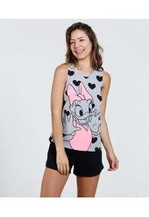 Short Doll Feminino Estampa Margarida Disney