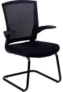 Cadeira Office Swift- Preta- 90,5X60X48Cm- Or Deor Design