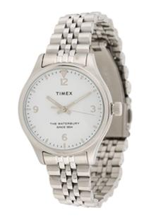 Timex Waterbury Traditional 34Mm Watch - Metálico