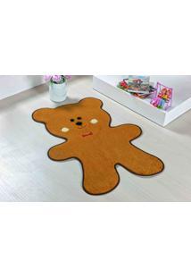 Tapete Guga Tapetes De Pelúcia Urso Biscoito Caramelo