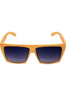 Óculos De Sol Khatto Square Bege
