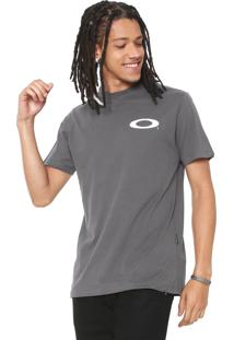 Camiseta Oakley Thrill Cinza