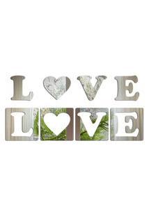 Espelho Love Decor Decorativo Love Único