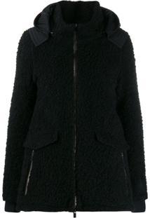 Herno Zip-Front Jacket - Preto