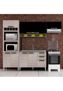 Cozinha Compacta Jazz 9 Pt 2 Gv Coimbra E Preto