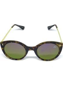 Óculos De Sol Redondo Cayo Blanco - Feminino