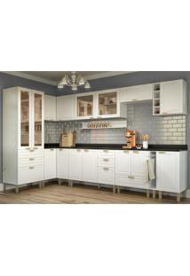 Cozinha Completa 13 Peças Americana Multimóveis 5646 Branco