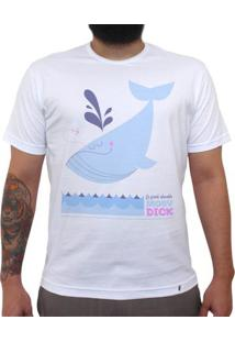 Moby Dick - Camiseta Clássica Masculina