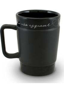 Caneca Coffe To Go-Giz 300Ml-Mondoceram - Pardo