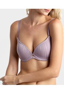 Sutiã Liz Push Up Lift - Feminino-Lilás
