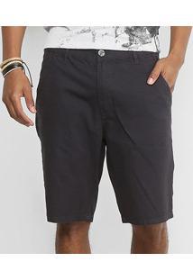 Bermuda Sarja Color Triton Masculina - Masculino-Jeans