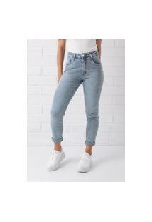 Calça Mom Pkd Concept Com Elastano Jeans Clara