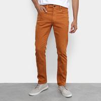 cb8453644 Calça Jeans Slim Calvin Klein Color Five Pockets Masculina - Masculino