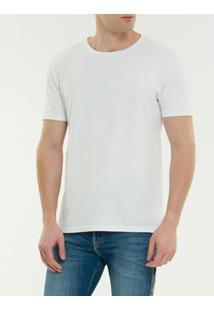 Camiseta Ckj Mc Est American Tour - Branco 2 - Pp