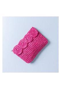 Clutch Flower Cor: Rosa - Tamanho: Único