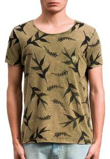 Camiseta Salt 35G Amazon Dupla Face Masculina - Masculino