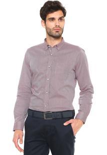 Camisa Sergio K Padronagem Rosa