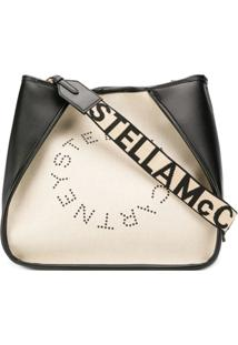 Stella Mccartney Bolsa Tiracolo Stella Com Logo - Neutro