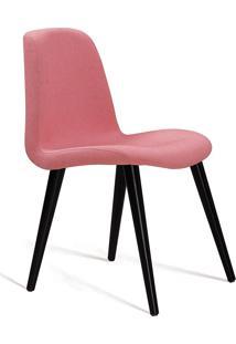 Cadeira Eames T1077 Linho-Daf Mobiliário - Coral