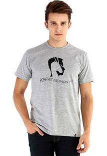 Camiseta Ouroboros Manga Curta Kafkianamente - Masculino
